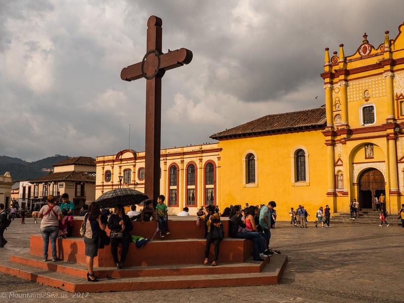 Central Cathedral in San Cristobal de Las Casas