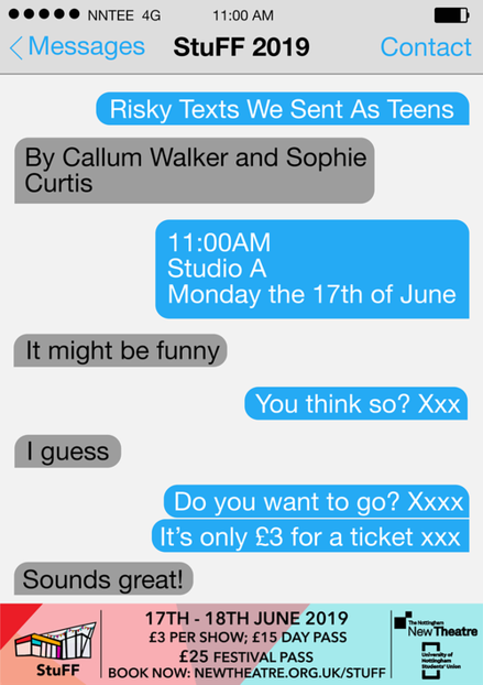 Risky Texts We Sent As Teens poster