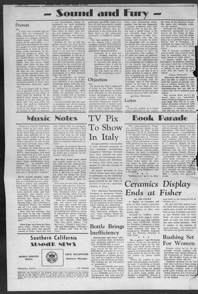 Summer News, Vol. 7, No. 13, August 08, 1952