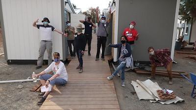 AAi Emergency Housing Build   Nov. 2020