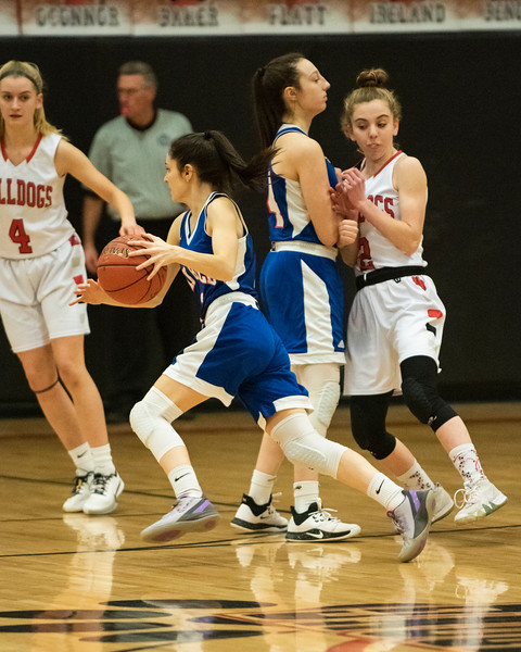 2020 Varsity Girls Basketball:  Hall-Dale vs Oak Hill