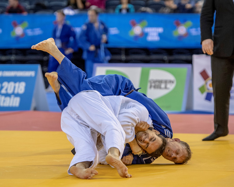 2018 Glasgow Veteran European Judo Championships (14-17 June)