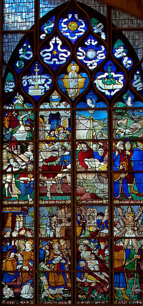 Rouen, Jeanne d'Arc Church - The Martyrdom of Saint Vincent