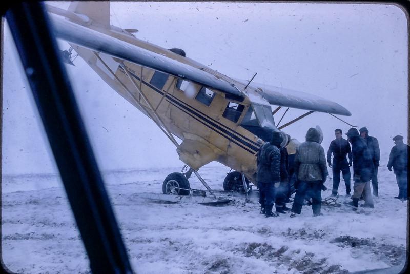 Norseman Mark 6 abimé au décollage à Shefferville