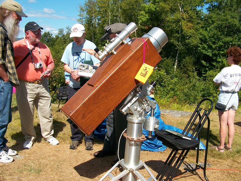 Another image of this unique 6.3 inch folded refractor.