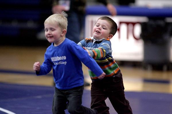 Hillsboro wrestling vs. Larimore 12/16/10