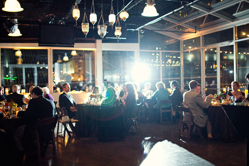 wedding reception at aerial nashville