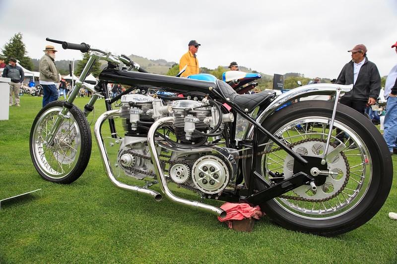 Quail Motorcycle Gathering - Double BSA Engine.jpg
