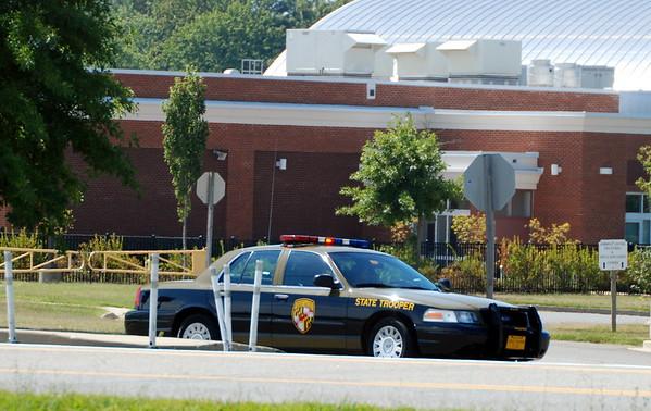 Leonardtown HS on Lockdown