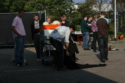 Ploegenuitje Noordwijkse Reddingsbrigade, 28-09-2008