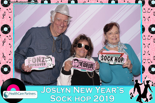 Joslyn New Year Sock Hop 2019