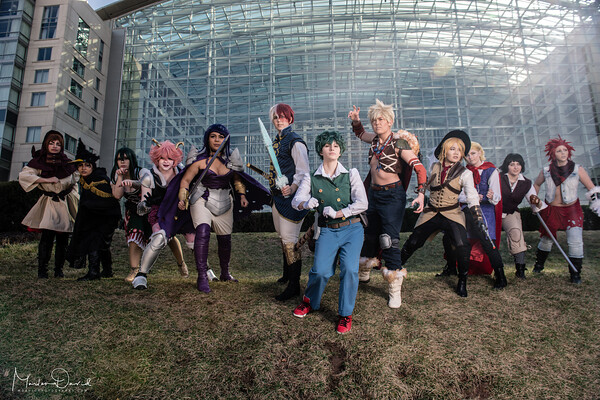 BNHA Fantasy group (Katsucon 2018)