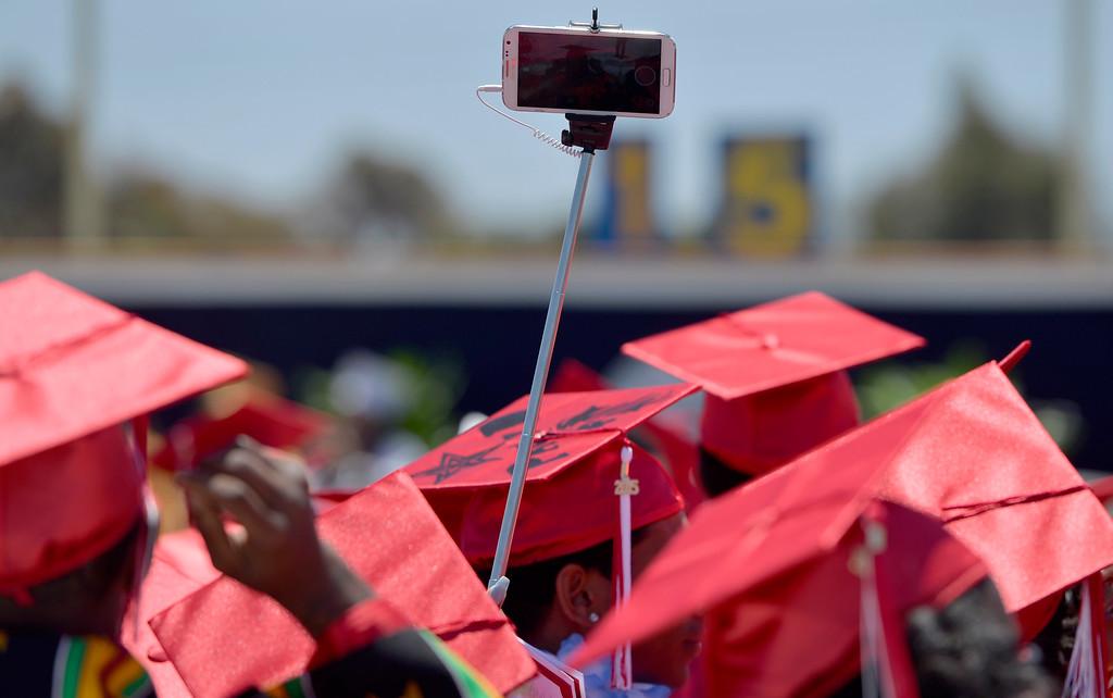 . Morningside High School Graduation 2015 in Los Angeles CA. Thursday June 18, 2015. (Thomas R. Cordova-Daily Breeze/Press-Telegram)