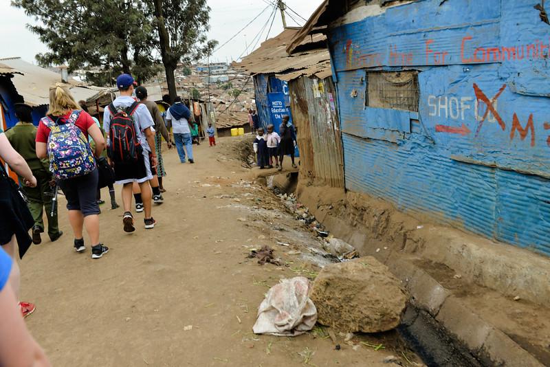 2016 Mercy House Vision Trip Kenya - wallking in Kibera.jpg