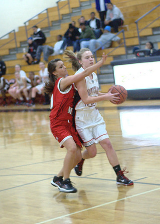 01/12/2010 BHS Girls JV Basketball - Butler JV VS South Meck