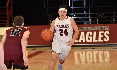 AMHS Varsity Boys Basketball vs Proctor photos by Gary Baker