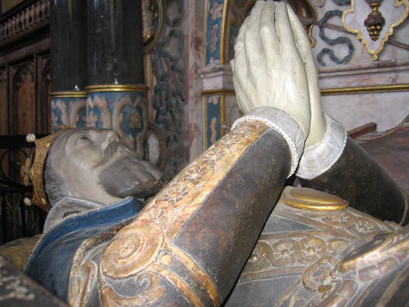 Tomb efficgy of Robert Dudley, Earl of Leicester, in St. Mary's Church, Warwick.