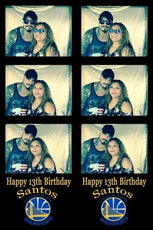 Santos 13th Birthday