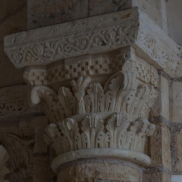 Saint-Benoit-sur-Loire Abbey Narthex Capital
