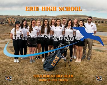 2019 EHS Girls Golf Team Pictures