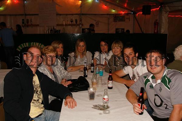 The Duffy clan at the comedy night, 07W33N57