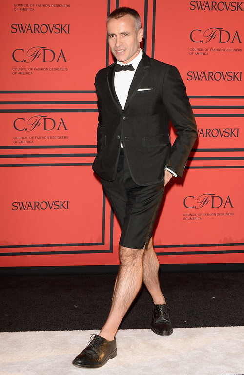 . Designer Thom Browne attends the 2013 CFDA Fashion Awards on June 3, 2013 in New York, United States.  (Photo by Andrew H. Walker/Getty Images)