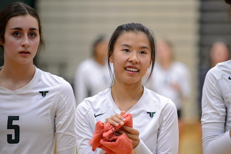THS Varsity VB vs Oregon City