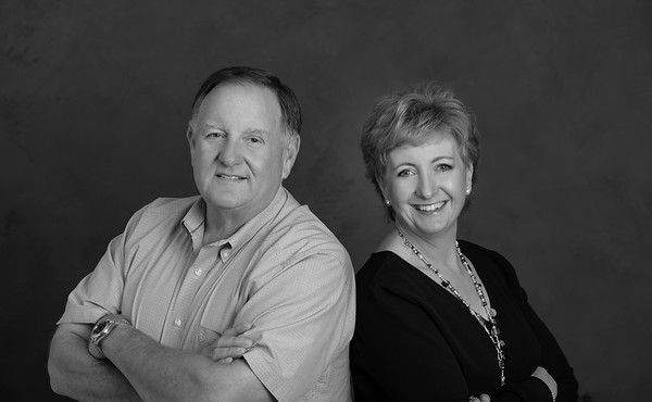 Jeff & Marcia Portraits B/W April 27, 2018