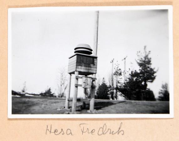 Margaretha Hayens fotoalbum från 1940-talet
