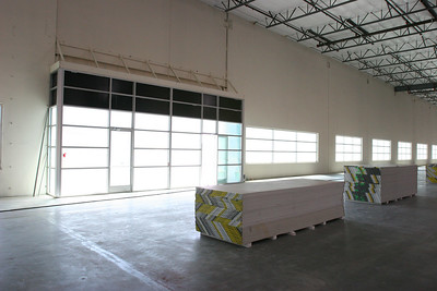 Riverside III, Phase III - windows are in!