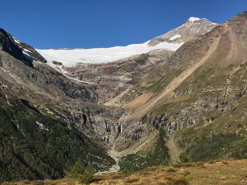 Piz Palu and its glaciers