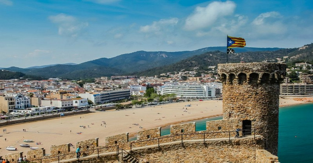 Beach in Costa Brava, Spain