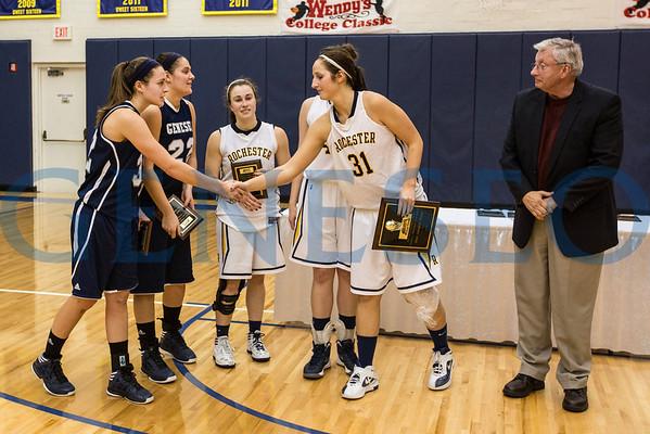 Women's Basketball - Wendy's Classic Championship vs. University of Rochester