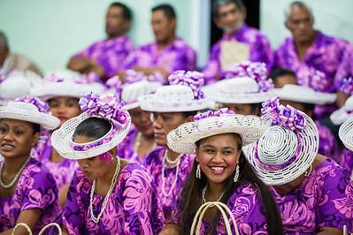 2014 - RIMATARA - Protestant tradition in the Pacific