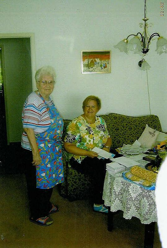 Elfi and Birgit 2005.jpg