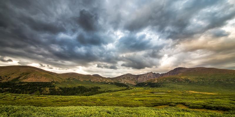 Mount Bierstadt Cloudy Evening 2x1