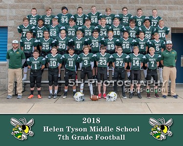 Tyson 7th Grade Football