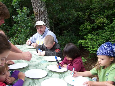 Bandon Camping August 2007