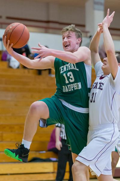 Freshmen Basketball | Central Dauphin @ State College | February 8, 2019.