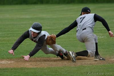 2007/05/12 Baseball (District) - Ocosta over Napavine