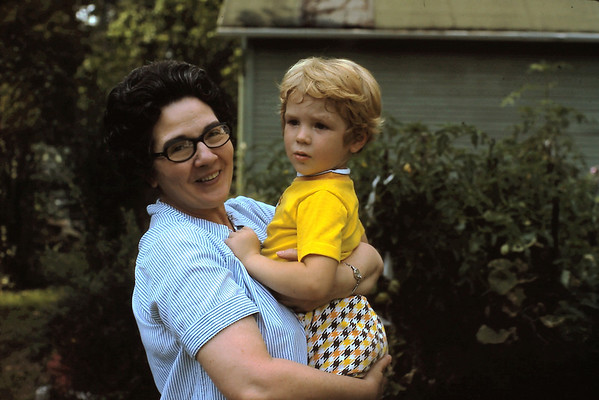 Virginia Wyatt with Mark Taake (1975)