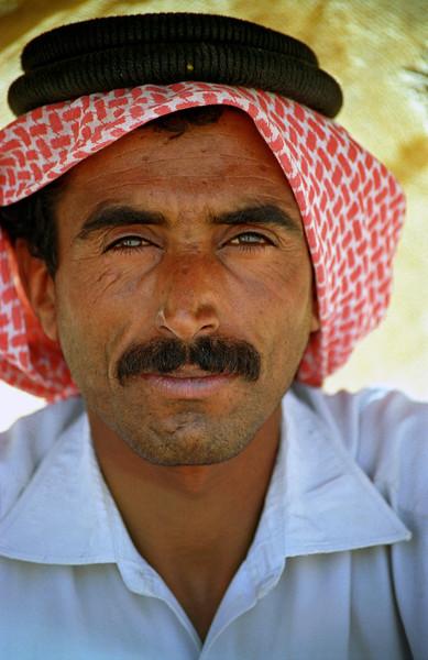 Portrait of Palestinian, Jordan