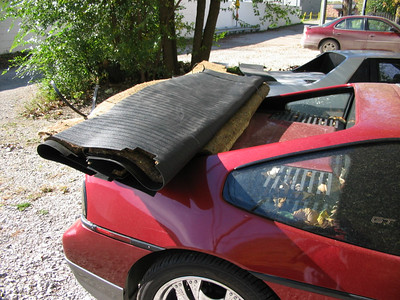 Fiero Trunk Shelf, Top Secret