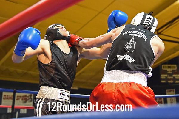 6=Bout #6:  Kenneth Austen, Strongstyle/Old School   vs.   Bradley Rist, King's Gym,   141 Lbs.
