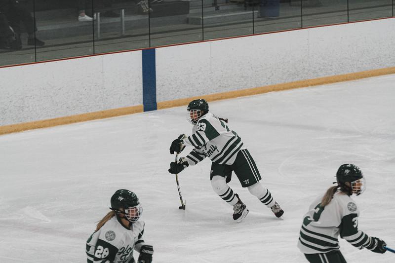 Holy Family Varsity Girls Hockey vs. Waconia, 1/9/20: Justina Valentini '23 (23)