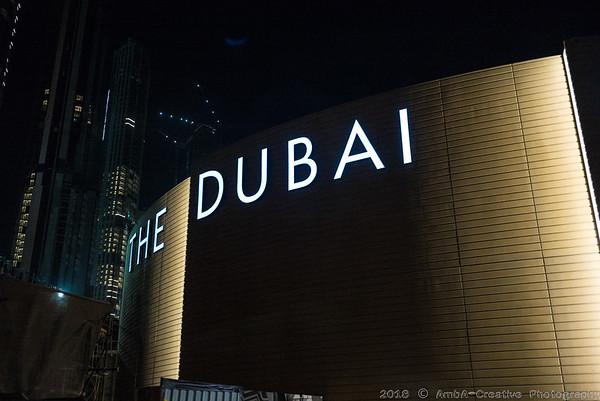 Summer of 2018 - Dubai