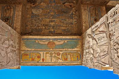 Egypt - Temple of Ramses III at Medinet Habu