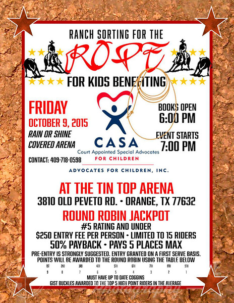 "2015 CASA ""Rope For Kids"""
