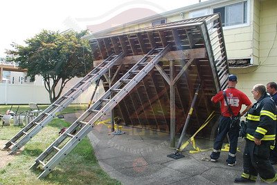 Deer Park F.D. Deck Collapse 149 Osceola Ave. 9/7/09