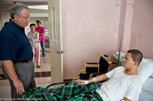 Hospital Visit to Fr. Joseph